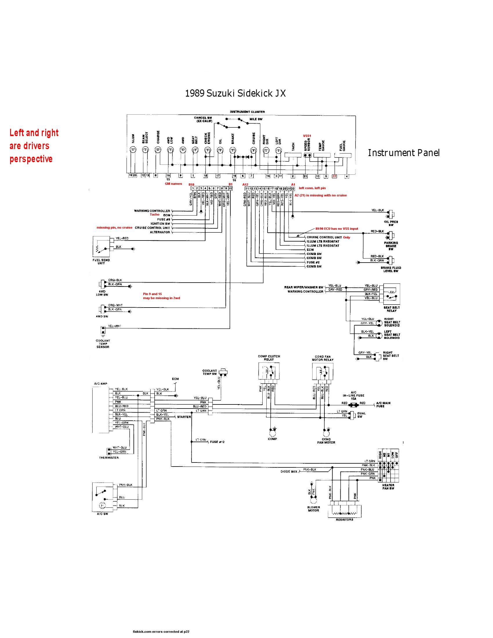 89 Camaro Vss Wiring Diagram Free For You Harness Gm Library