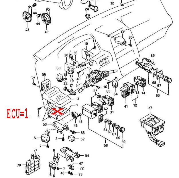 ECU LOC1W 1996 geo tracker wiring diagram 1992 geo tracker wiring diagram wiring diagram for 1994 geo prizm at gsmportal.co