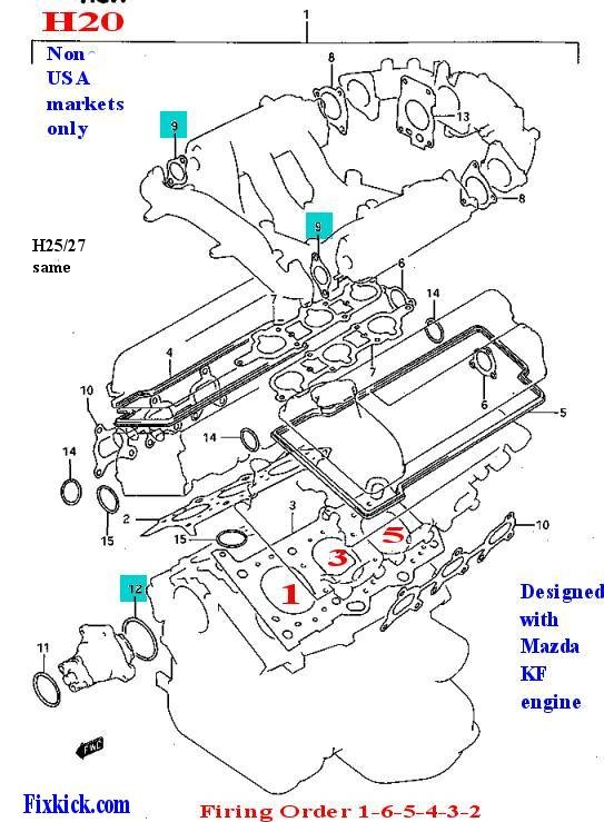 2006 suzuki xl7 engine diagram