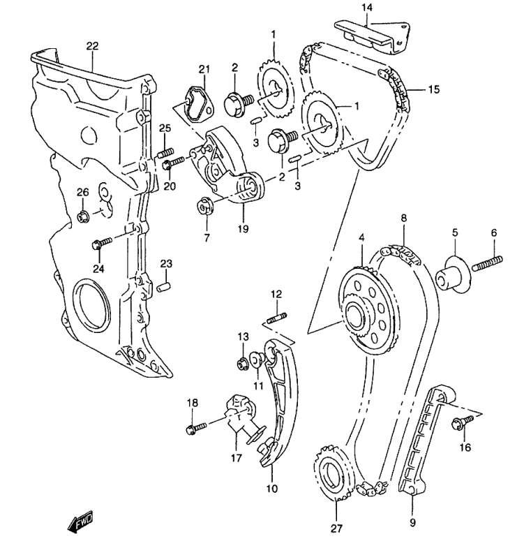 Dohc Engine Diagram
