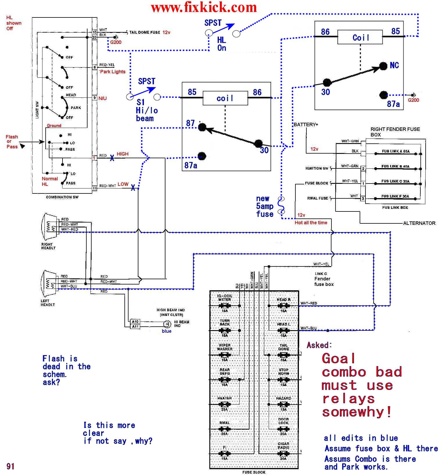Electrical Failure Index 95 Town Car Starter Fuse Location How To