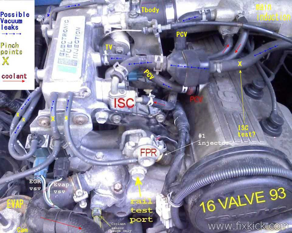 1996 Geo Tracker 16 16v Stalling When Warm Printable Versionrhfixkick: Geo Tracker Pcv Valve Location Further Egr At Elf-jo.com