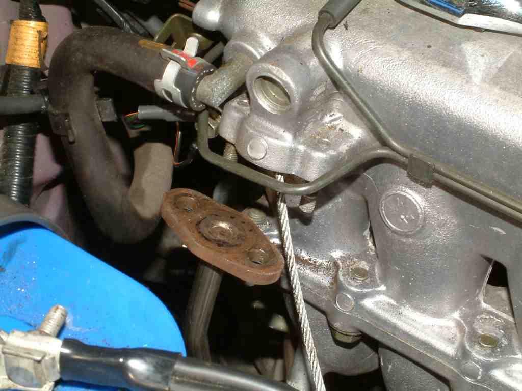 Egr Repair Methods Geo Prizm Engine Diagram Freeze Plugs Photos Below Including 22 Inch 1 8 Steel Rope