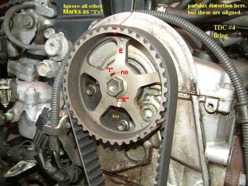 Cambelt timing marks - Suzuki Forums: Suzuki Forum Site