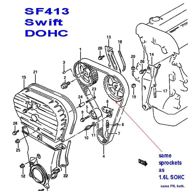 suzuki 1 6 engine diagram
