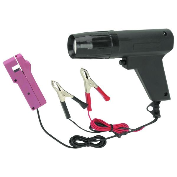 Hook up timing gun