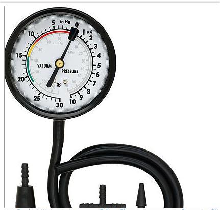 vacuum gauge readings while driving