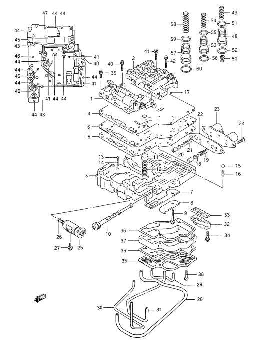 service manual  how to install 2011 suzuki sx4 valve body