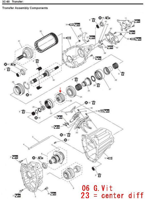 ford front differential actuator diagram html