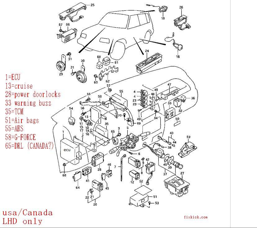 1995 Suzuki Esteem Headlight Wiring Diagram Pics