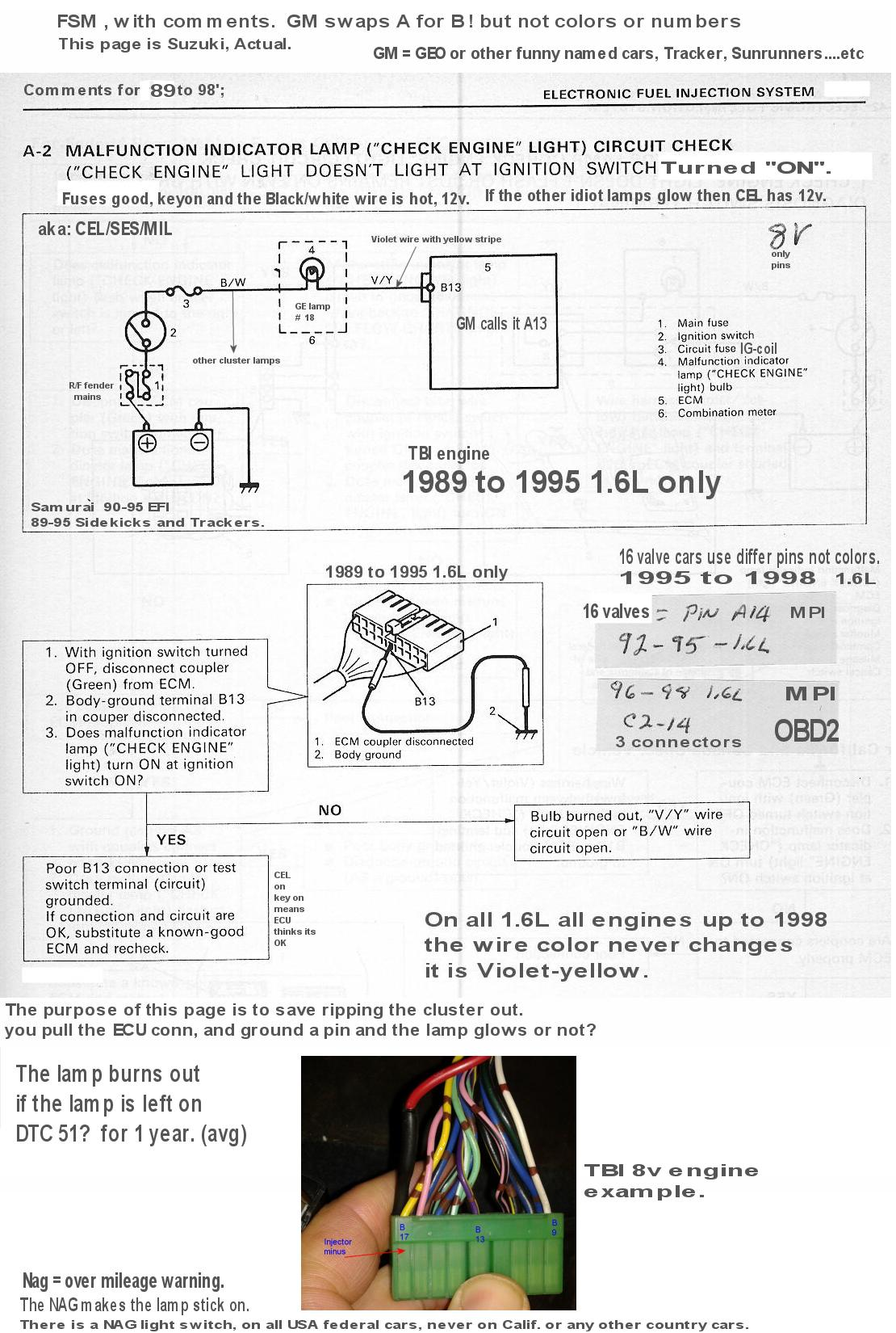 92 Geo Tracker Wiring Diagram 1992 Radio