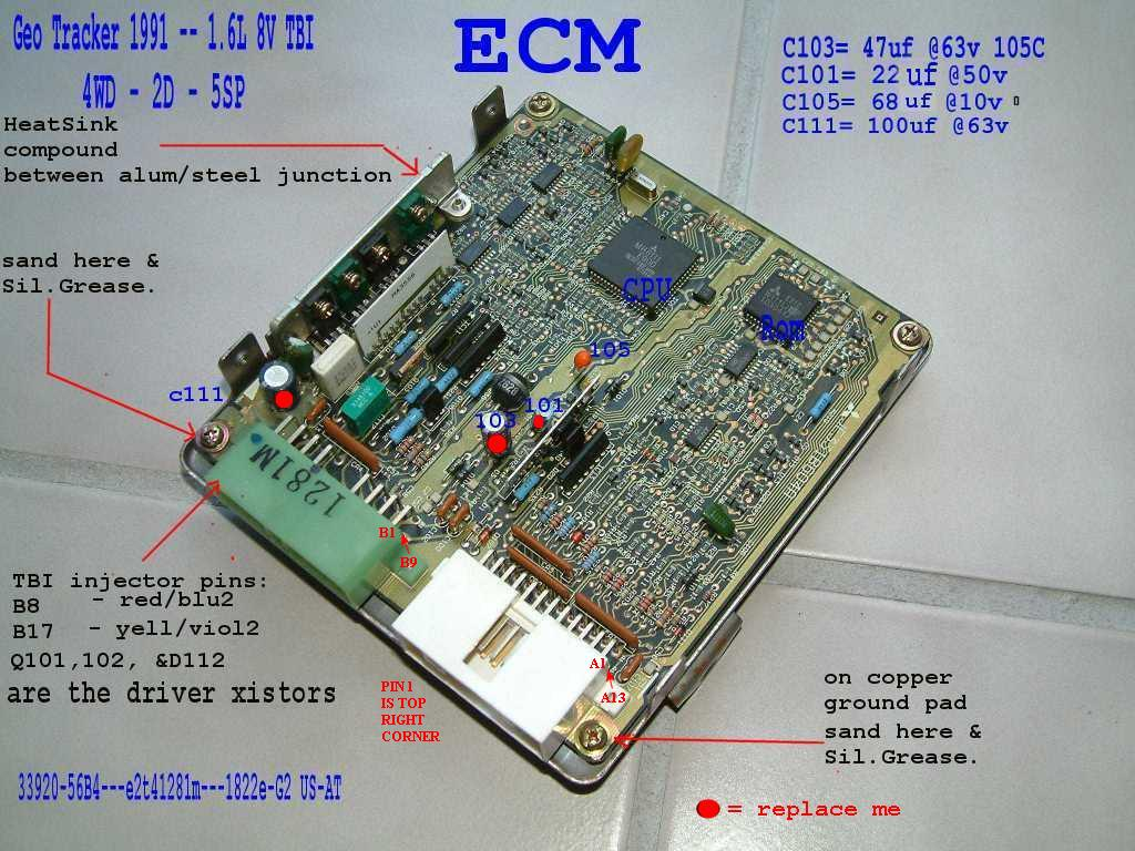 The 8valve Ecu 56bxx