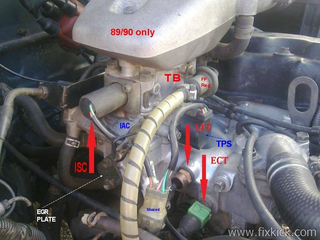 Suzuki Sidekick Repair Forum Vacuum Advance Hose Geo Tracker Engine Diagram Manifold Http Idle Air Slide Sh20iat