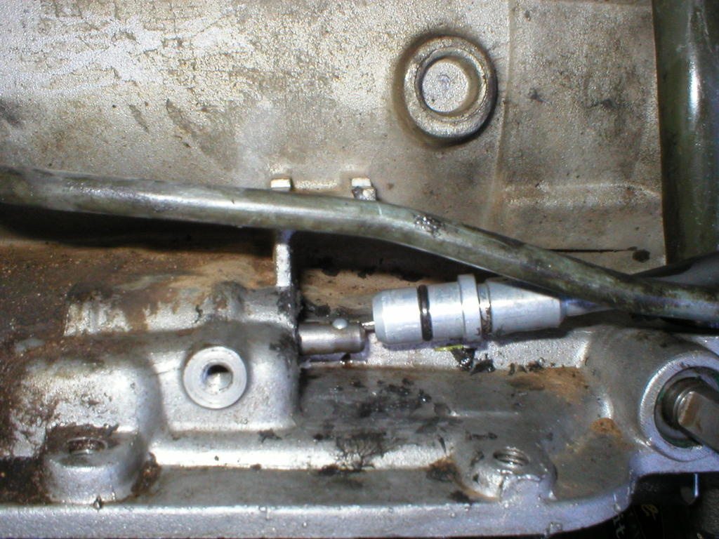 Slush Pump Diagnosis 2001 Mitsubishi Pajero Automatic Transmission Hydraulic Circuit Diagram Tv Cable Has An O Ring And It The Can Crack Leak